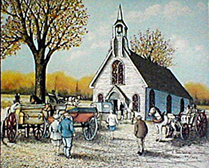 The Country Church 1985 20 X 24 750 Edition Artist Proofs Available