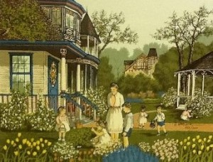 Hargrove paintings all other editions victorian easter egg hunt 12 x 16 available negle Choice Image